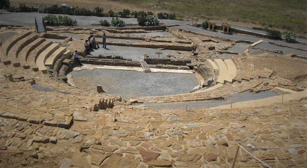 Το θέατρο της Ηφαιστίας στη Λήμνο 2